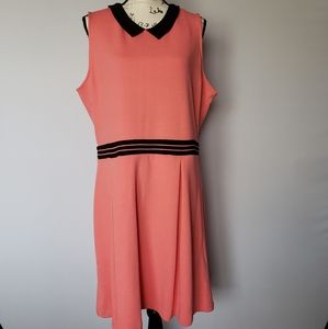 Adorable Coral Colored Dress